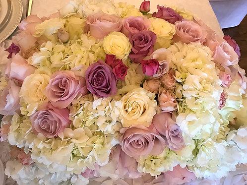 Rose/Lavender Blossoms-White Wonder