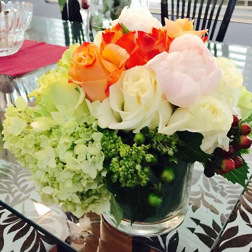 Peonies, Roses, Hydrangeas and Berries