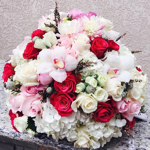 Bold Splash Assorted Floral Arrangement
