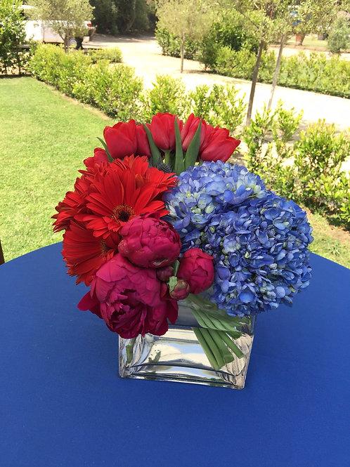 Summer Bold -Hydrangeas, Peonies, Tulips, Daisies