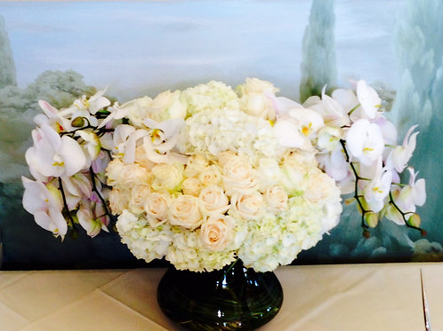 Roses, Orchids and Hydrangeas