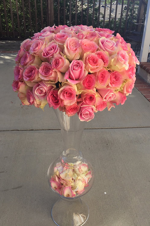 Pink Rose Ball - Vendela and Esperance Roses
