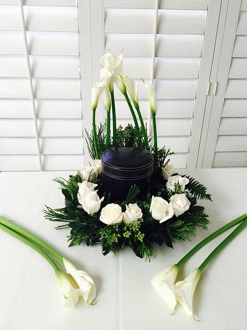 Urn Decorative Wreath