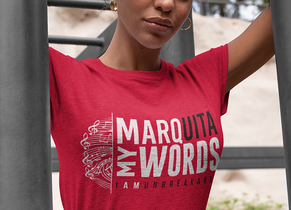 MARQuita My Words Graphic Tee