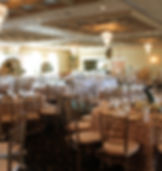 wedding, wedding venue, wedding flowers, grand ballroom, custom linens, chiavari chairs