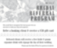 bridal referral program