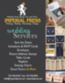 imperial press printing mailing marketing, invites, banners, promotional products, canvas prints, brochures, booklets, programs,