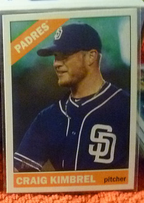 2015 Heritage High # Craig Kimbrel #722 Padres SP