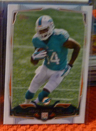 2014 Topps Jarvis Landry RC #394 Dolphins