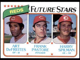1980 Topps Cincinnati Reds Rookies (Frank Pastore)