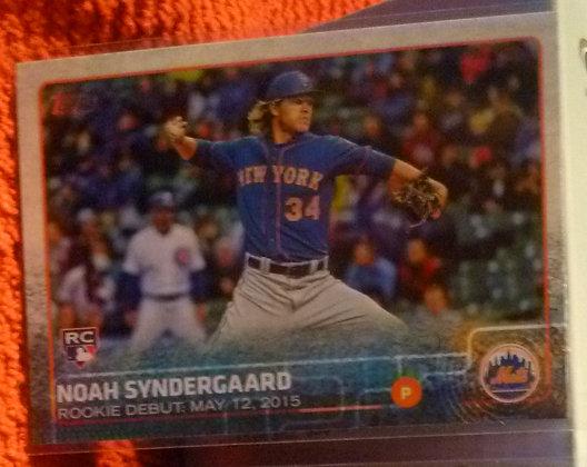 2015 Topps Noah Syndergaard RC #US234 Mets