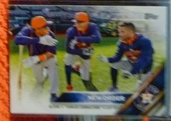 2016 Topps New Order Astros #170 Carlos Correa
