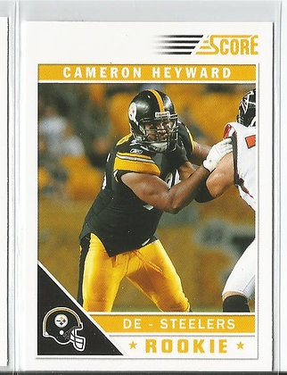 2011 Score Cameron Heyward RC Factory Variation