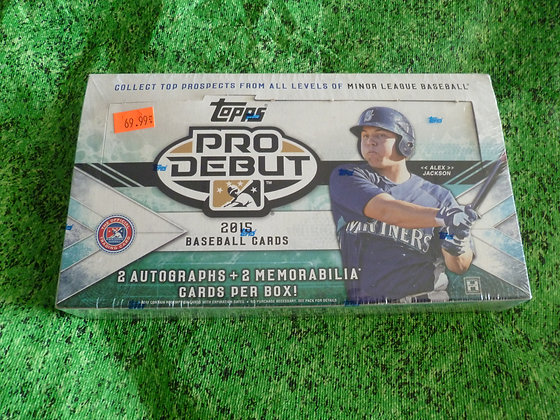 2015 Topps Pro Debut (Minor League)