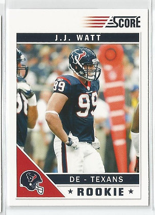 2011 Score J.J. Watt RC Factory Variation