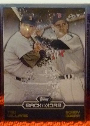 2016 Topps Back To Back Red Sox Ted Williams #13