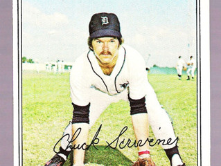 1977 Topps Chuck Scrivener