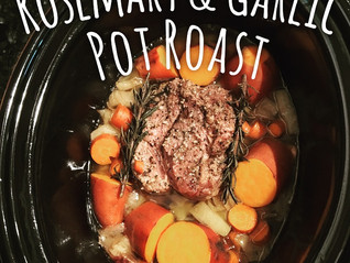 Holy Pot Roast & Sweet Potatoes!