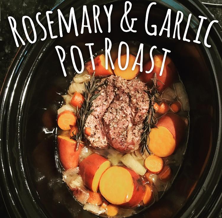 Rosemary and Garlic Pot Roast