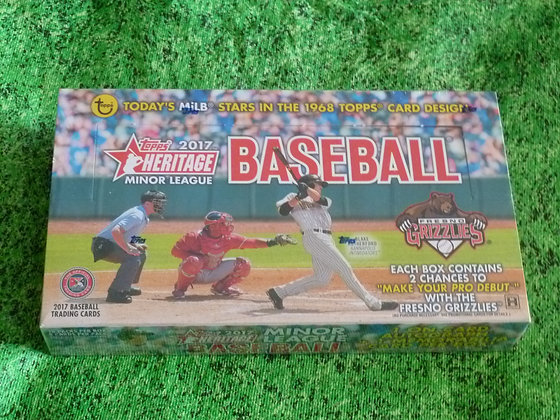 2017 Topps Heritage Minor League Addition