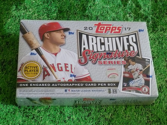 2017 Topps Signature Archives Baseball (Active)