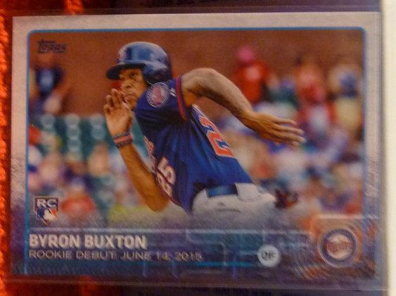 2015 Topps Byron Buxton RC #US136 Twins
