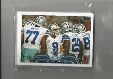 2013 Topps Dallas Cowboys Team Set