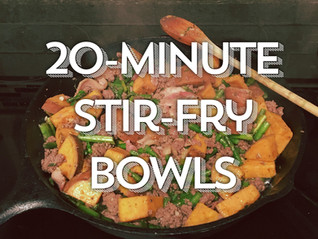 Top 3 Delicious 20-Minute Stir-Fry Recipes