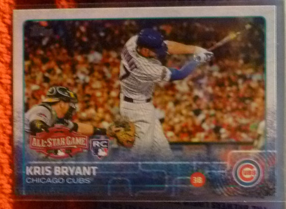 2015 Topps Kris Bryant #US242 Cubs RC All Star