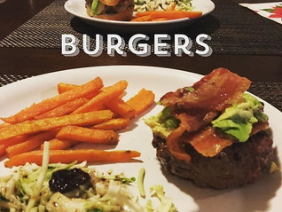 Whataburger-Inspired Burger & Sweet Potato Fries