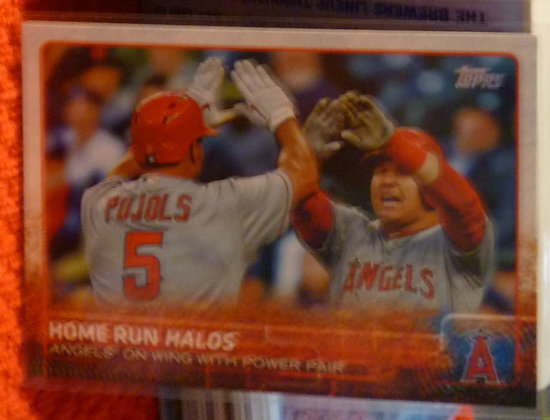 2015 Topps Mike Trout #US213 Angels Pujols