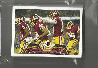2013 Topps Washington Redskins Team Set