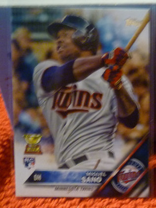 2016 Topps Miguel Sano RC #78 Twins