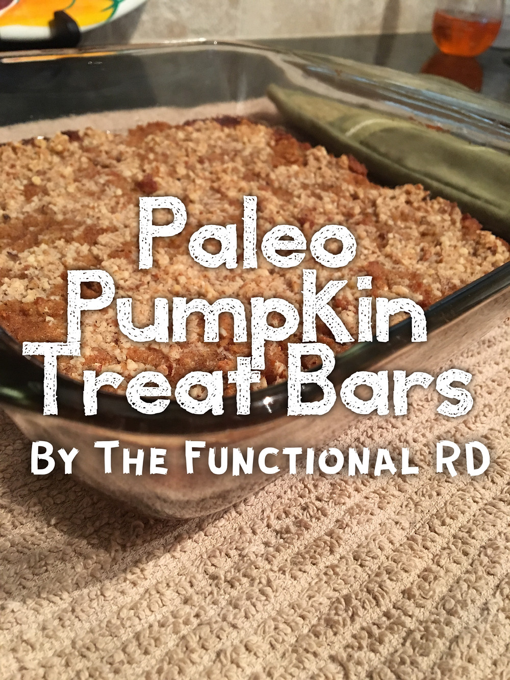 Paleo Pumpkin Treat Bars