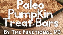 Featured Recipe: Paleo Pumpkin Treat Bars