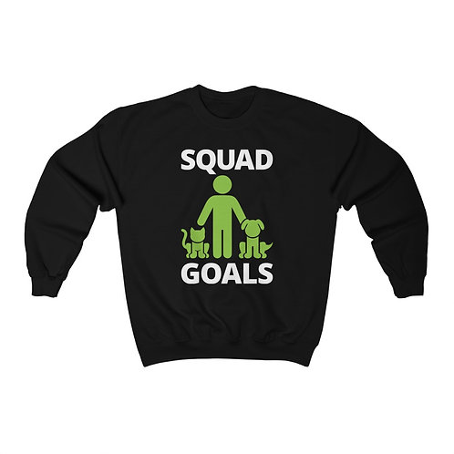 Squad Goals Unisex Heavy Blend™ Crewneck Sweatshirt