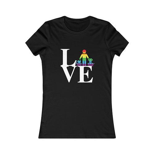 LOVE Pride Women's Favorite Tee