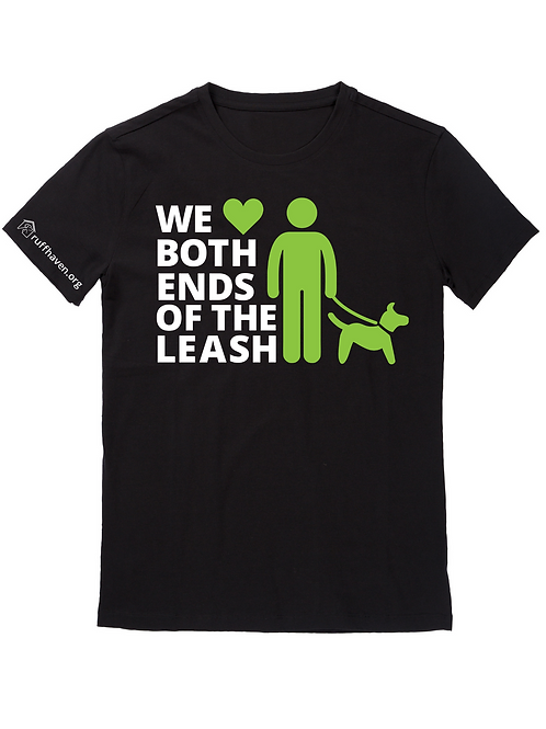 We Love Both Ends of the Leash UNISEX T-SHIRT