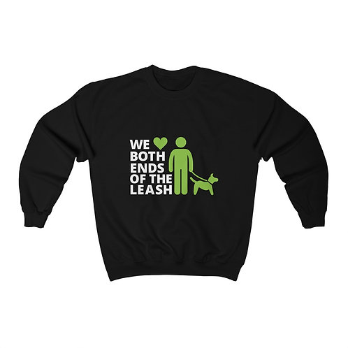 Both Ends of the Leash Unisex Heavy Blend™ Crewneck Sweatshirt