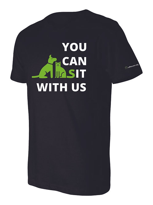 You Can Sit With Us UNISEX T-SHIRT