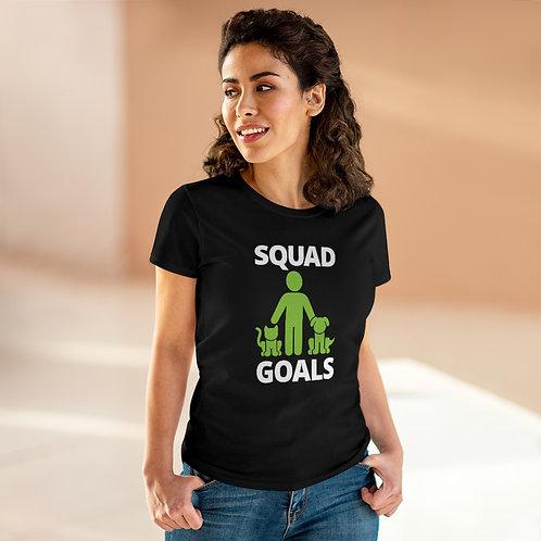 Squad Goals Women's Heavy Cotton Tee