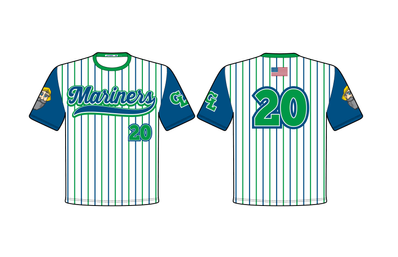 2020 Grand Lake Mariners Sublimated Spon