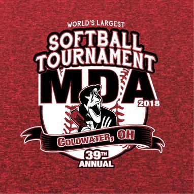 MDA Softball Tournament - Logo