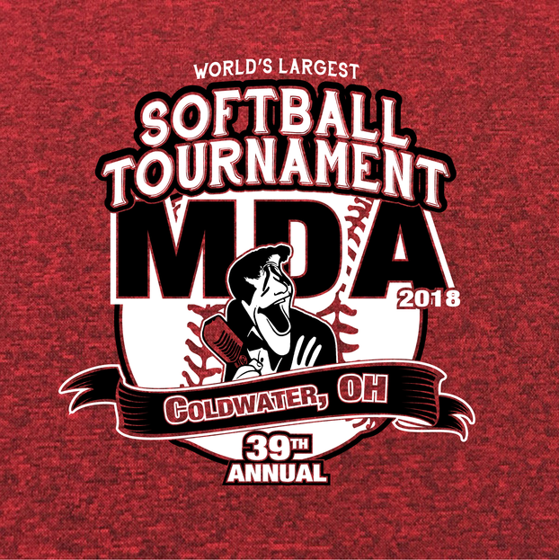 MDA Softball Tournament - Logo