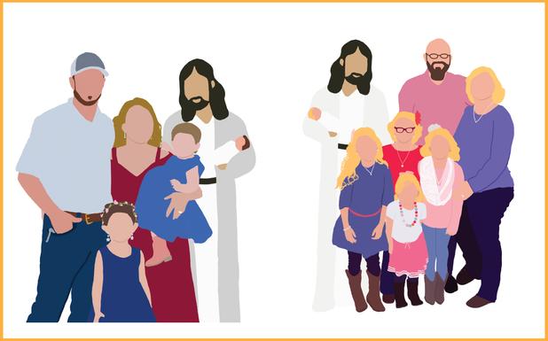 Family Portrait Outlines