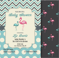 Baby Shower Invitation -Elizabeth Davis