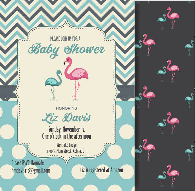 Baby Shower Invitation -Elizabeth Davis