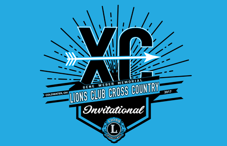 Lions Club Cross Country Invitational 2017 - Logo