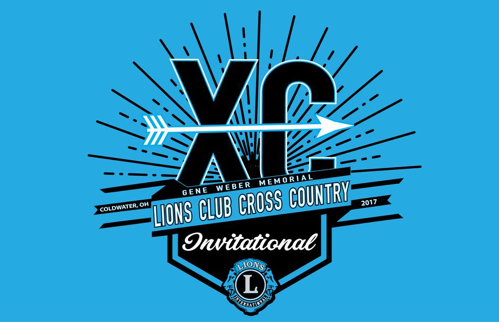 Lions Club Cross Country Invitational 2017 - Logo