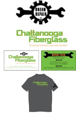 Chattanooga Fiberglass - Brehm Repair - Logos